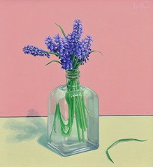 Malcolm Christhilf, Hyacinth (PA Trails of History) Tags: springboro crawfordcounty painting
