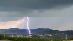 Blitz und Donner über Ilmenau (Fini_stern) Tags: blitz blitzunddonner wetter lightning weather thunderstorm thüringen nature natur naturephotography ilmenau cityview