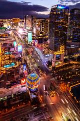 Las Vegas-3 (coopertje) Tags: unitedstates usa nevada las vegas verenigde staten vs thestrip boulevard casino architecture evening night lights america amerika paris eiffel tower balloon sinncity