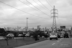 coming home... (@petra) Tags: cityscape fromtheroad urban electricity wires street cars nikon