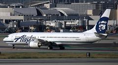 Boeing 737-990 N303AS (707-348C) Tags: losangeles thehill klax passenger airliner jetliner boeing boeing737 n303as alaskaairlines alaskan asa california lax usa 2019 b739