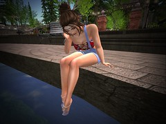 Relaxing by the water 3 (rebeccaj2750) Tags: firestorm secondlife secondlife:region=calasgaladhon secondlife:parcel=calasgaladhonpark secondlife:x=80 secondlife:y=119 secondlife:z=20