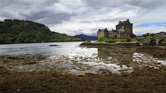 Eilean Donan Castle (Boganeer) Tags: eileandonan castle lake loch lowtide water reflection scotland canon canoneos canon6d icon unitedkingdom uk