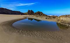 Sweet tea by the sea (Robert Grove 2) Tags: seascape oregon calm sweet water sand beach coastal