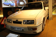 Beaulieu,40 (doojohn701) Tags: vintage retro classic car dagenham ford sierra cosworth white museum beaulieu uk