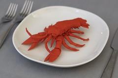 Lobster designed by Kota Imai folded by OrigamibyBoice | 57x57cm unryu | MC | #origamibyboice #origami (OrigamibyBoice) Tags: origamibyboice origami