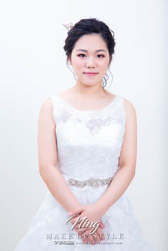 【新秘羽寧】素人改造-打造完美新娘造型