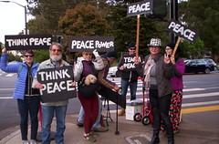 100_2796 (Haight Ashbury Neighborhood Peace Vigil) Tags: haight ashbury peace vigil iraq iran afghanistan syria venezuela war moratorium golden gate park panhandle san francisco may 2019