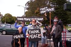 100_2795 (Haight Ashbury Neighborhood Peace Vigil) Tags: haight ashbury peace vigil iraq iran afghanistan syria venezuela war moratorium golden gate park panhandle san francisco may 2019