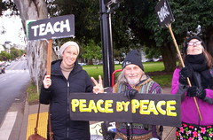100_2790 (Haight Ashbury Neighborhood Peace Vigil) Tags: haight ashbury peace vigil iraq iran afghanistan syria venezuela war moratorium golden gate park panhandle san francisco may 2019