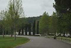 Florence American Cemetery (Elizabeth Almlie) Tags: italy florence florenceamericancemetery cemetery nationalcemetery road