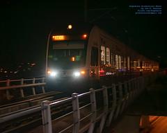 Approaching Sound Transit Link Train in Pre-Dawn Hours (AvgeekJoe) Tags: 1835mmf18dchsm a centrallink d5300 dslr kinkisharyointernational kinkisharyo kinkisharyomitsui kinkisharyomitsuilightrailvehicle lightrail linklightrail nikon nikond5300 seattle sexylightrail sigma1835mmf18 sigma1835mmf18dchsmart sigma1835mmf18dchsmartfornikon sigmaartlens soundtransit soundtransitcentrallink soundtransitlink train usa washingtonstate masstransit night nightphoto nightphotograph nightphotography nightshot rail transit urbanrail