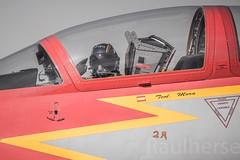 Getafe Airshow 2019 (Ejército del Aire Ministerio de Defensa España) Tags: getafe airshow aerobatic ejércitodelaire fuerzaaérea airforce aviación aviation militar military patrullaáguila c101 cabina cockpit piloto pilot