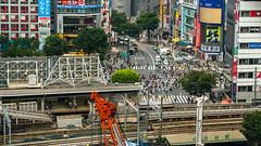 DSC_0039 (Adrian De Lisle) Tags: asia city cityscape crosswalk crowd japan people shibuya shibuyacrossing shibuyahikarie tokyo train trainstation shibuyaku tōkyōto