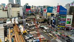 DSC_0075 (Adrian De Lisle) Tags: asia city cityscape crosswalk crowd japan people shibuya shibuyacrossing shibuyahikarie tokyo train trainstation shibuyaku tōkyōto