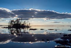 Evening at Lake Näsijärvi. (Ari Kalliala) Tags: tampere suomi finland näsijärvi kevät spring ilta evening olympus omdem1mk2 mzuiko1240pro