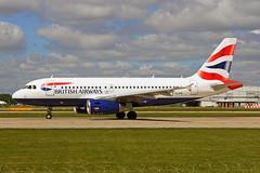 G-EUPR Airbus A319-131 British Airways MAN 21MAY19 (Ken Fielding) Tags: geupr airbus a319131 britishairways aircraft airplane airliner jet jetliner