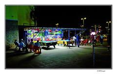 men's corner (harrypwt) Tags: harrypwt abuja nigeria africa afrika green fujix70 x70 city borders framed people paintinglike