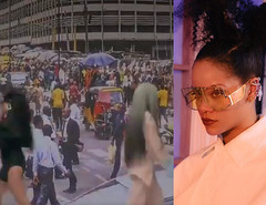 Rihanna features CMS, Lagos, for her latest Fenty campaign video (baydorzblogng) Tags: nigeria news africa international celebrity gists other education fashion