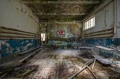 DSC_1428 (The Archives of Decay) Tags: urbanexploring urbexphotography udssr lostplaces abandonedplaces abandoned verlassen abandonedmilitarybuilding sovietunion sowjetunion gssdwgt gssd kaserne sovietunionabandoned