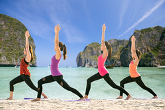 Group of Asian lady exercise by Yoga on the Maya beach (I love landscape) Tags: yoga beach woman young sunrise healthy fitness sea nature exercise lifestyle group relaxation meditation maya female morning health seaside back sunset sitting girl wellness sky phi phiphi krabi phuket phangnga samui pattaya summer adult beauty water ocean body people practicing sport outdoors view sun natural asian thai relax women fit