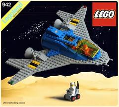 LL-942 Classic box art (The Brick Artisan) Tags: ll942 neoclassic classic space classicspace lego rover spaceship spacecraft spaceman scifi ship