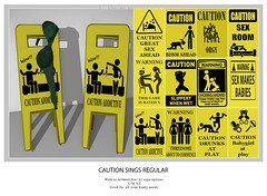 Caution Regular Signs (*StarSugar*) Tags: caution sign signs june design designer sugar star ss adult group bdsm childish girly sl secondlife life second daddy daddys lolita girl baby babygirl kitten neko kitty cat erotic erotica hot fetish candy hold bento event xxx sex sexy naughty pale