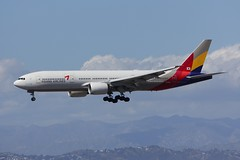 B777 HL8254 Los Angeles 28.03.19 (jonf45 - 5 million views -Thank you) Tags: airliner civil aircraft jet plane flight aviation lax los angeles international airport klax asiana airlines boeing 777 hl8254