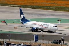 B737 XA-DRA Los Angeles 28.03.19 (jonf45 - 5 million views -Thank you) Tags: airliner civil aircraft jet plane flight aviation lax los angeles international airport klax aeromexico boeing 737 xadra