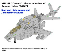 VFH-10R Coronis AGAC recon variant (yuina1107) Tags: 複合ヘリコプター 超時空騎団サザンクロス 超時空要塞マクロス 可変戦闘機 バルキリー vf1 超時空シリーズ コクピット コックピット スウェーデン空軍 foxhound gyrodyne helicopter attackhelicopter sikorsky super dimension cavalry southerncross veritech veritechfighter variablefighter agac ajax robotech cockpit robotechmasters valkylie