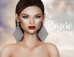 - shanghai - Saure Earrings - SENSE EVENT! (- ShangHai -) Tags: shanghai secondlife second fashion hair acessory jewelry
