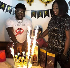 Comedian, I Go Save's wife throws a surprise 40th birthday party for him in Austria. Photos (baydorzblogng) Tags: nigeria news africa international celebrity gists other education fashion