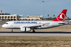 Turkish Airlines Airbus A319-132  |  TC-JLT  |  LMML (Melvin Debono) Tags: turkish airlines airbus a319132 | tcjlt lmml cn 4665 melvin debono spotting canon plane planes photography airport airplane aircraft malta mla
