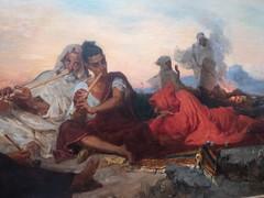 Les joueurs de flûte (bpmm) Tags: algérie gustaveguillaumet lapiscine nord roubaix art expo exposition peinture