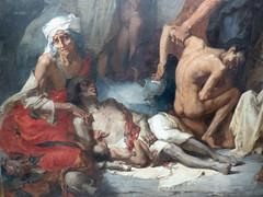 La famine en Algérie (bpmm) Tags: algérie gustaveguillaumet lapiscine nord roubaix art expo exposition peinture