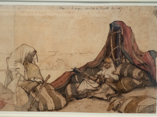 Campement à Alger
