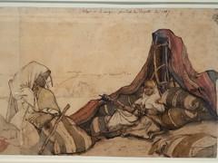 Campement à Alger (bpmm) Tags: algérie gustaveguillaumet lapiscine nord roubaix art dessin expo exposition