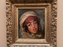 Portrait de jeune fille arabe (bpmm) Tags: algérie gustaveguillaumet lapiscine nord roubaix art expo exposition peinture
