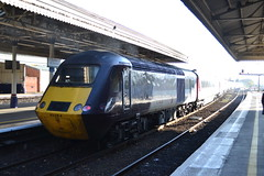 Cross Country Trains HST 43384 (Will Swain) Tags: exeter st davids station 18th november 2018 cross country trains hst 43384 class 43 384 high speed xc arriva group train rail railway railways transport travel uk britain vehicle vehicles england english europe