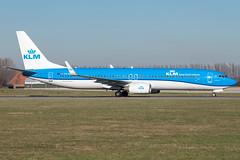 KLM B737-9K2(WL) PH-BXS (wapo84) Tags: ams eham b737 klm phbxs