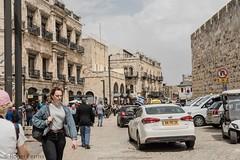 INSIDE JAFFA GATE, OLD CITY JERUSALEM_DSC_3735_LR_2.5 (Roger Perriss) Tags: 2019 34may israel jaffagatearea car street jaffa gate oldcity d750