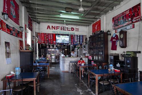Liverpool fans café!