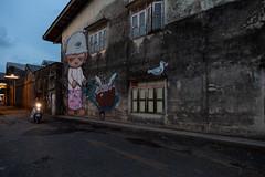 Phuket town Street Art (Scalino) Tags: thailand souththailand asia southeastasia phukettown streetart market