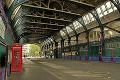 Smithfield (Croydon Clicker) Tags: smithfield market meat london cityoflondon hall street telephone phonebox people car graffiti