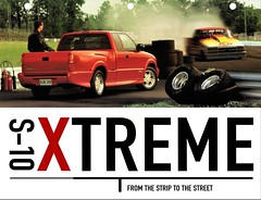 1999 Chevrolet S-10 Xtreme (aldenjewell) Tags: 1999 chevrolet s10 xtreme brochure