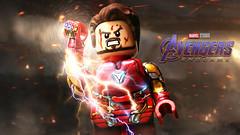 LEGO Avengers: Endgame - Iron Man MK 85 Teaser (MGF Customs/Reviews) Tags: lego avengers endgame iron man mk mark 85 nano suit custom figure minifigure robert downey jr tony stark gauntlet
