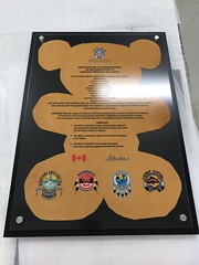 Government of Alberta - First Nations Health Consortium (Royal Rubber Stamp & Sign Co.) Tags: custom unique government recognition plaques directtosubstrate acrylic signs signage edmonton alberta canada 2019