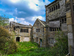 Extwistle Hall (Pendlelives) Tags: extwistle hall old ruins british heritage brierfield briercliffe harle syke moors east lancashire yorkshire haunted building stone scary interior exterior farm farmland countryside nature witches pendle architecture pendlelives