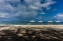 Perfect day (ana.averke) Tags: beach mauritius flicenflac ocean umbrellas sky relax holiday