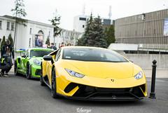 Lamborghini Aventador / Porsche GT3RS (Wawrzyn) Tags: supercars car cars sportcar lamborghini aventador porsche gt3rs carspotting spotting motorshow poznan photography nikon d3300 35mm